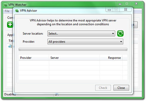 VPN Watcher Desktop Advisor