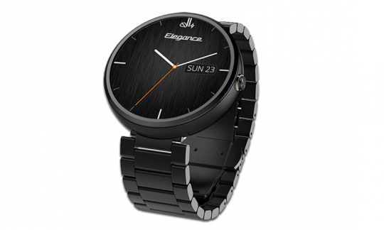 Elegance Watch Face on Moto 360