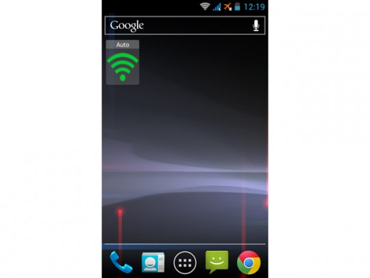 Smart Widget Auto WiFi Mode